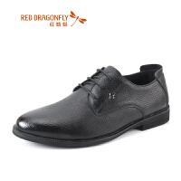 【年��限�r��,�I�辉�p20】�t蜻蜓男鞋春秋新款�r尚婚鞋商�照��b鞋真皮�面皮男皮鞋