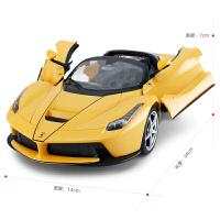 RASTAR/ 法拉利疾速漂移遥控汽车USB充电敞篷赛车儿童玩具