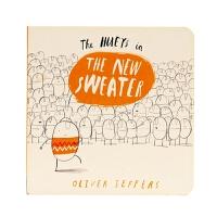 新毛衣 The New Sweater 0-3 儿童启蒙绘本 名家Oliver Jeffers 英文原版绘本