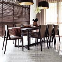 【优选】餐桌现代简约长方形北欧时尚小户型桌子设计师家具锐驰定制款新款