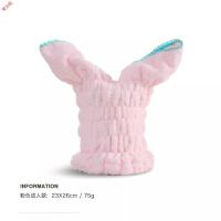 新品兔子耳朵干发帽吸水可爱擦头发速干包头毛巾浴帽定制