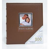 相册影集 4D/大6寸相册160张 皮面镜框相册
