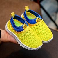 童鞋儿童运动鞋夏季镂空男童网鞋女童透气鞋中大童跑步鞋凉鞋