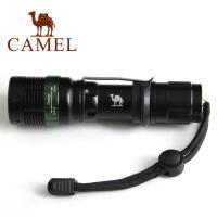 camel骆驼户外手电筒 LED变焦 远射探险越野登山照明 防水 强光 充电迷你手电筒【因电池为航空禁品,所有此款只支