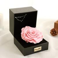 星座永生花礼盒巨型玫瑰花送女友生日礼物保鲜花情人节母节