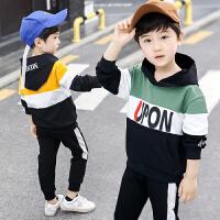 2019春秋季新款运动套装儿童中大童洋气两件套男童套装