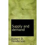 【预订】Supply and Demand