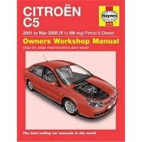 预订Citroen C5 Owners Workshop Manual