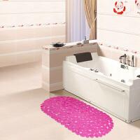 享家PVC鹅卵石浴室按摩垫 浴室防滑地垫 地毯 卫生间地垫66*36�M