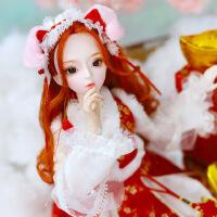 【2件5折】芭比娃娃 新年礼物 精品 德必胜娃娃 十二生肖系列60cm改装娃娃仿真玩具公主bjd换装洋娃娃 猪-猪元宝