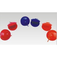 奥尔夫乐器 儿童音乐玩具 塑料响板(个)