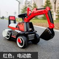 儿童电动挖掘机可坐人新款可骑超大码男生小孩玩具充电勾机工程车挖土机 官方标配(全系列预售下单3天内发货)