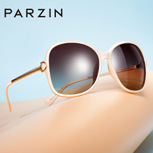 帕森偏光镜 女士墨镜修脸细框蛤蟆镜 时尚大框太阳镜眼镜9217