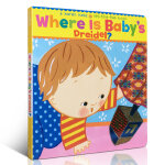 顺丰发货 Where Is Baby's Dreidel?宝宝的陀螺在哪?A Lift-the-Flap Book幼儿