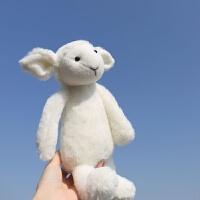 北欧ins卡通可爱企鹅小羊猪毛绒玩偶公仔超柔软陪睡娃娃生日礼物 其它大小