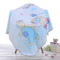 婴儿浴巾超柔软比纯棉吸水宝宝正方形婴幼儿童毛巾被新生儿大盖毯