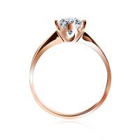 梦克拉 18K金钻石戒指结婚女戒钻戒 佳人 可礼品卡购买