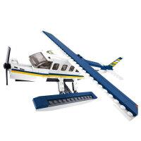 小鲁班 益智积木拼插玩具 拼装玩具 拼插模型飞机系列-Z 水上飞机 B0361