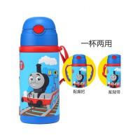 托马斯和朋友软胶两用保温杯背带保温保冷水壶儿童水杯男孩儿童宝宝玩具