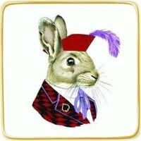 预订Berkley Bestiary Jack Rabbit Porcelain Square Tray