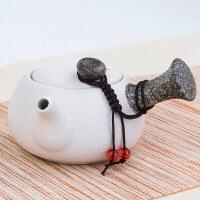 【优选】陶瓷茶壶茶道雪花单壶家用简约现代功夫茶具单个泡茶壶创意泡茶器