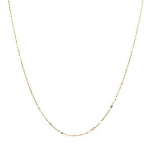 梦克拉  18K金项链水波项链细链 低调美 可礼品卡购买