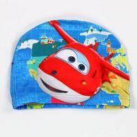 儿童卡通布泳帽公主男女童 宝宝泳帽游泳训练泳帽可爱印花帽子 【儿童款】