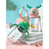 儿童吸管水杯子夏天女可爱小学生幼儿园防摔便携夏季家用水壶