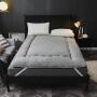 伊迪梦家纺 婚庆床垫保暖羊羔绒加厚可折叠无痕绗缝高档床垫床褥床护垫四季垫单人双人床LC003