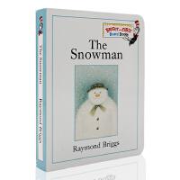 进口英文原版绘本 波士顿环球号角图画书奖 The Snowman 雪人 纸板无字书
