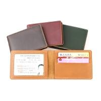 驾照夹女薄款行驶证套男多功能卡包证件夹