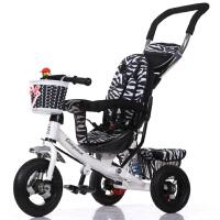 儿童三轮车婴儿手推车宝宝脚踏车小孩1-3-5自行车减震 儿童三轮车脚踏车