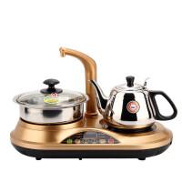 金灶D-22自动加水抽水器电热水壶消毒烧水电磁炉茶具不锈钢电茶壶