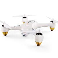 有摄像头的无人机拍照飞机专业 遥控四轴飞行器直升飞机无刷电机GPS定点高清航拍 白色 官方标配