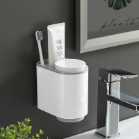 简约漱口杯刷牙杯子置物架北欧家用洗漱杯套装牙缸情侣一对牙刷杯