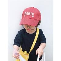 儿童格凉帽棒球帽宝宝遮阳帽子夏季透气男女童薄款鸭舌帽