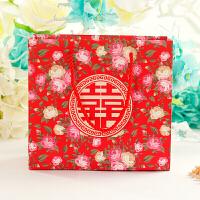 欧式婚礼喜糖盒子喜庆用品礼品袋创意个性结婚伴手礼袋子情人节礼物