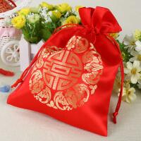 婚礼婚庆喜糖袋子结婚用品糖果袋装糖果纱袋喜糖盒喜糖包装袋创意