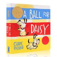 进口英文原版绘本 2012年凯迪克金奖 黛西的球 A Ball for Daisy Board Book 纸板书 美国