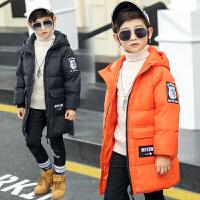 儿童羽绒服男童中长款加厚中大童羽绒服儿童冬季外套冬装