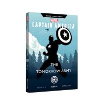 英文原版 漫威超级英雄故事.美国队长 Captain America: the Tomorrow Army(赠英文音频