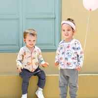 babycare儿童宝宝防护衣 男童女童防晒衣皮肤衣透气轻薄防紫外线