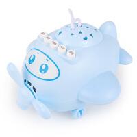 早教机带星空投影益智小飞机婴儿催眠助眠宝宝音乐安抚玩具