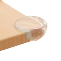 贝伦多 桌子桌角护角儿童防撞角加厚透明防碰包角玻璃茶几台角防护保护套 大圆角 配3M胶10个装