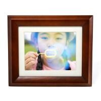 GiiNii 金霓 GH-8DNP-C 数码相框 咖啡色 128M 8英寸