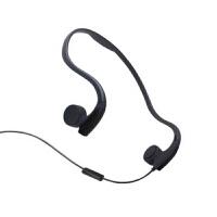 耳机 骨传导有线线控耳机麦 头戴挂耳式立体声 非蓝牙运动耳机防汗音乐耳机