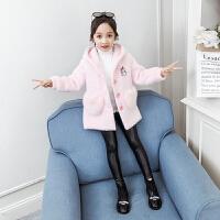 中大童童装洋气上衣2019年秋冬季儿童女孩时髦外套女童新款秋装