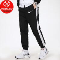 Nike/耐克男裤新款宽松舒适透气休闲裤收口小脚裤跑步健身训练运动长裤DJ4133-010