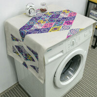 单开门冰箱罩全自动滚筒洗衣机床头柜盖布盖巾布艺防尘罩定制定制