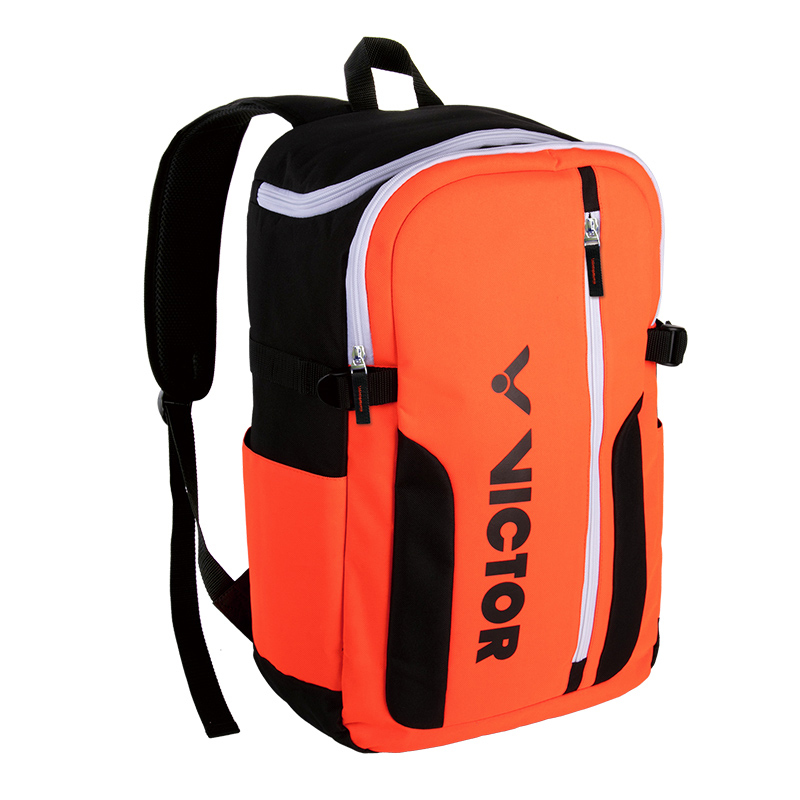 威克多VICTOR BR6011羽毛球包 俱乐部TEAM系列休闲款羽网两用运动双肩背包 大容量,多功能,羽网两用。